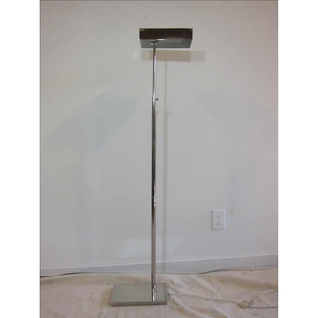 Chrome Articulating Floor Lamp - Image 2 of 7