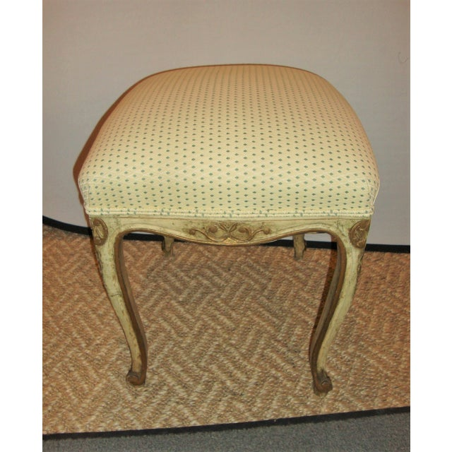 1930s French Painted Stools - A Pair For Sale - Image 5 of 9