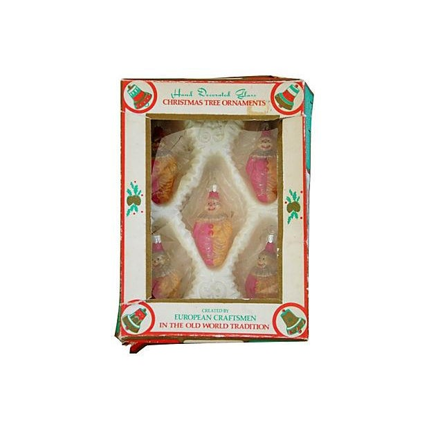 Hand-Decorated Christmas Ornaments - Set of 5 - Image 4 of 4