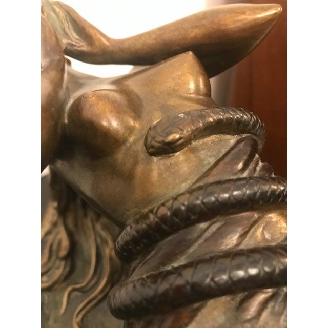 "1984 Erte Ltd Ed ""Perfume"" Bronze Sculpture by Romain De Tirtoff For Sale - Image 10 of 13"
