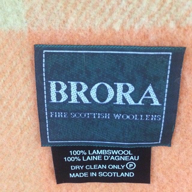 Orange Wool Blanket from London - Image 8 of 8