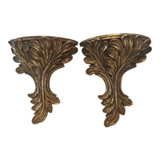 Baroque Wall Brackets - A Pair