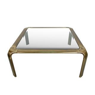 Widdicomb Mid-Century Modern Brass Coffee Table