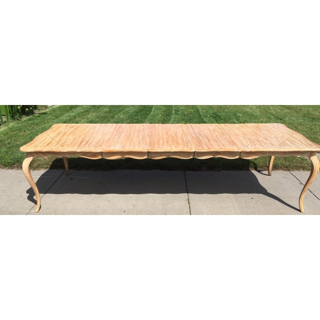 1950s French Country Style Long Dining Table For Sale - Image 11 of 13