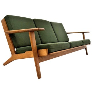 Hans Wegner Danish Mid Century Modern Sofa for Getama For Sale