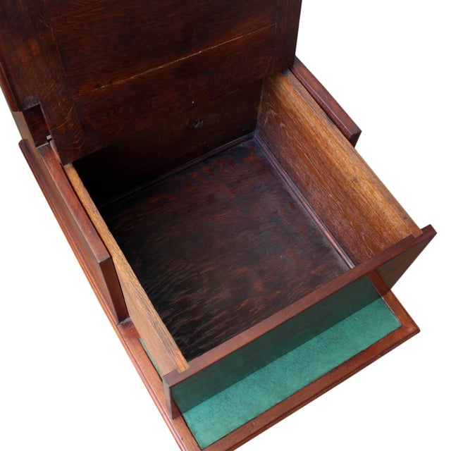 Animal Skin Mahogany Library Steps For Sale - Image 7 of 9