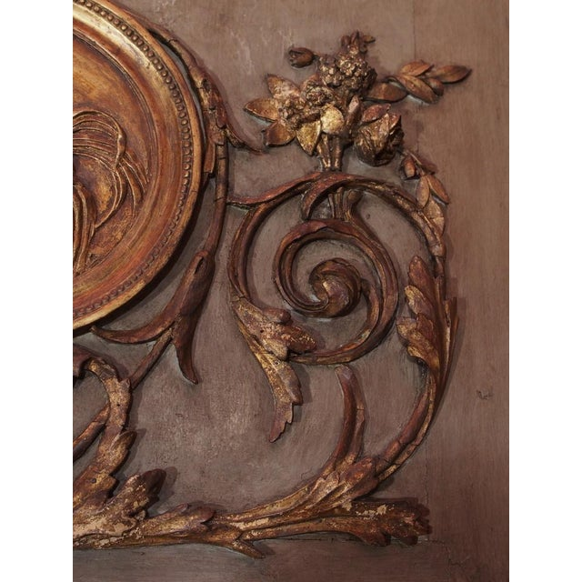 19th Century French Trumeau Mirror For Sale In New Orleans - Image 6 of 7