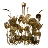 Image of Modern Brutalist Style Lily Pad Chandelier By: Studio a Home For Sale