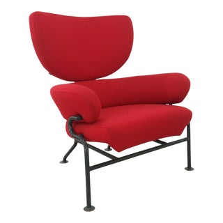 Armchairs by Franco Albini Mod. Tre Pezzi Pl19 for Poggi For Sale