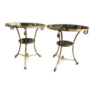 Louis XVI Bronze Gueridons - a Pair For Sale