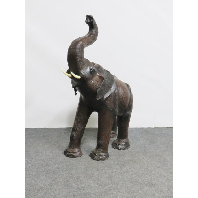 Leather Elephant Statue For Sale In Philadelphia - Image 6 of 6