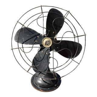 1930s Vintage Robbins Myers Desk Fan For Sale