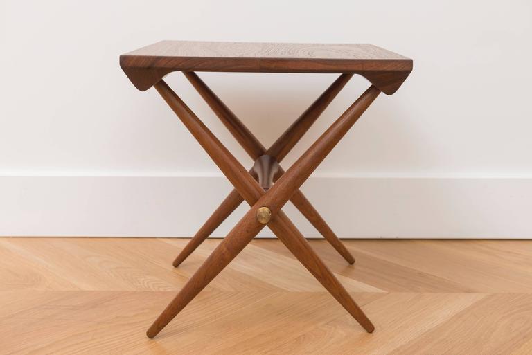 Jens Quistgaard Teak Side Table   Image 6 Of 8