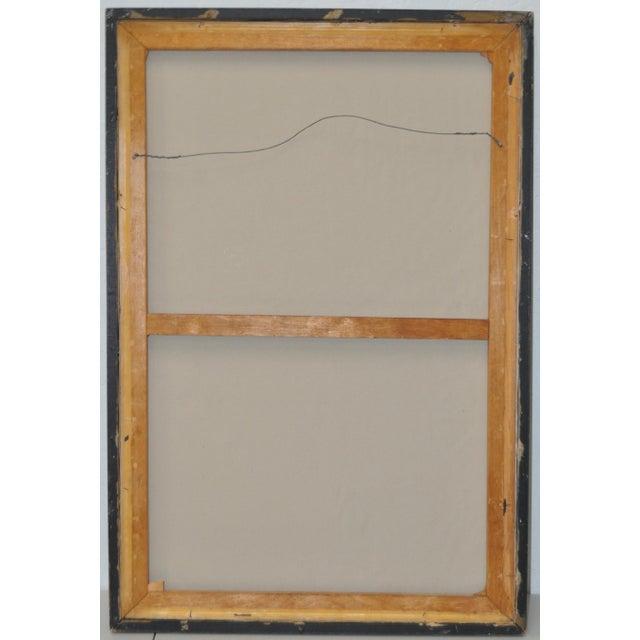 Jacques Enguerrand Gourgue (1930-1996) Haitian Master Original Oil Painting C.1950s For Sale - Image 4 of 5
