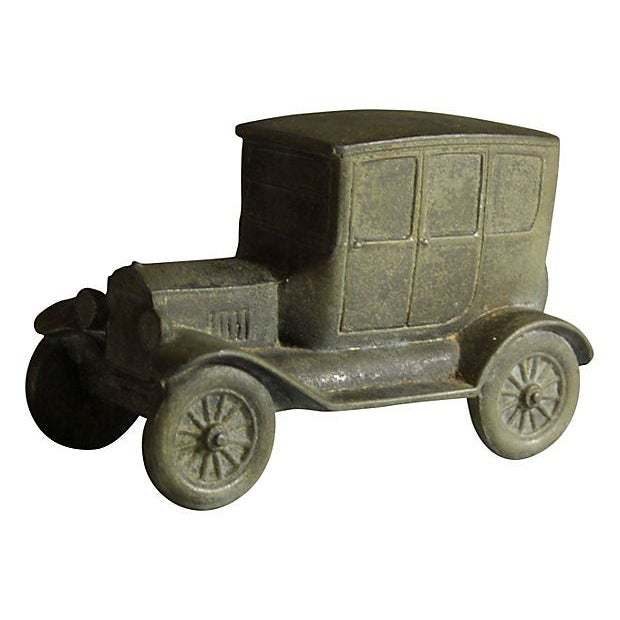 Antique Brass Car For Sale