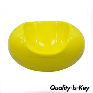 1960s Vintage Eero Aarnio for Asko Yellow Fiberglass Pastille Pod Gyro Lounge Chair Preview