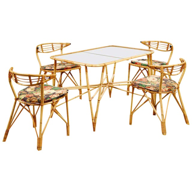 1940s Vintage Patio Dining Set For Sale