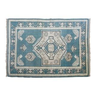 Vintage Erdemir Turkish Wool Rug - 5′9″ × 8′