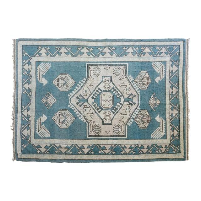Vintage Erdemir Turkish Wool Rug - 5′9″ × 8′ For Sale