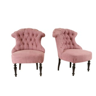 Tufted Chauffeuses For Sale
