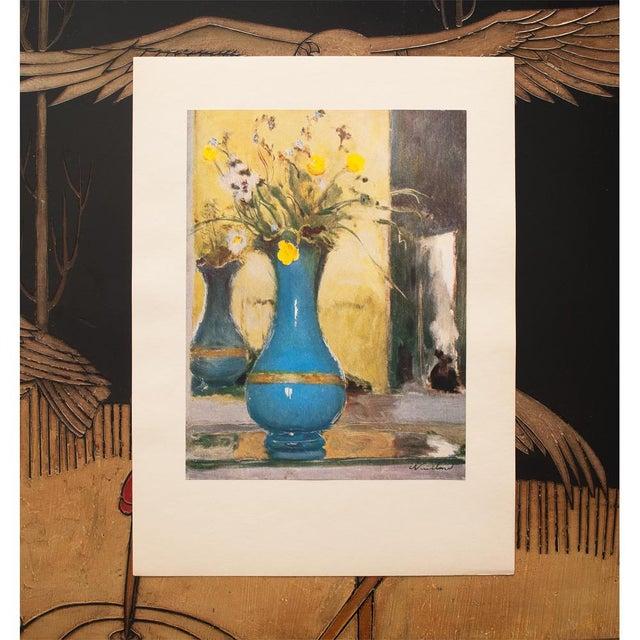 French 1947 Edouard Vuillard Le Vase Bleu Lithograph For Sale - Image 3 of 8