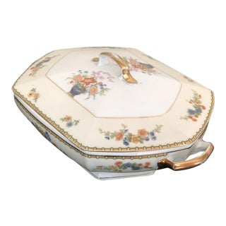 "1950s MZ Altrohlau ""Diana"" Covered Casserole Dish For Sale"