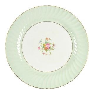 """Minton Dawn Pale Green 15"""" Round Platter"""