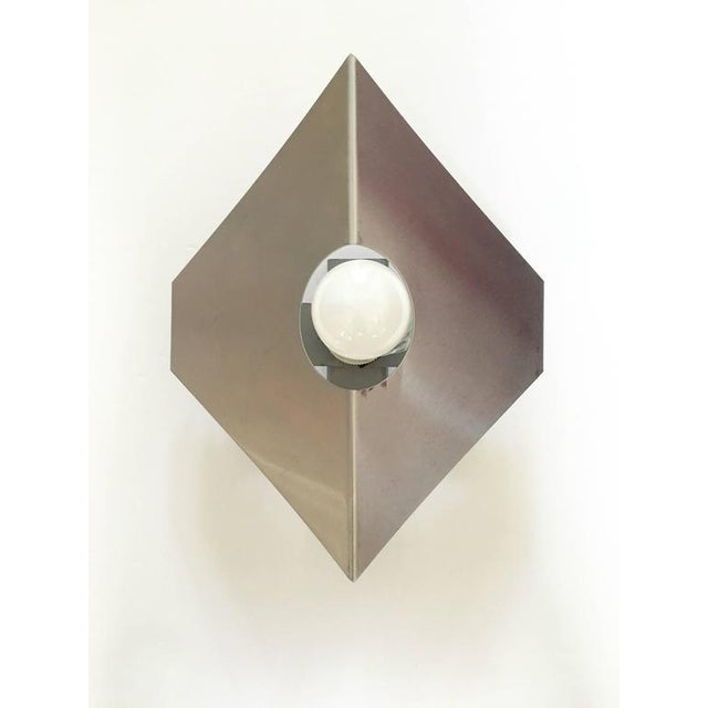 Metal Sconces in the Style of Max Sauze - A Pair - Image 4 of 10