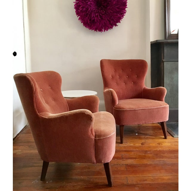1958 Vintage Theo Ruth for Artifort Mid Century Danish Modern Lounge Chairs - a Pair - Image 2 of 6