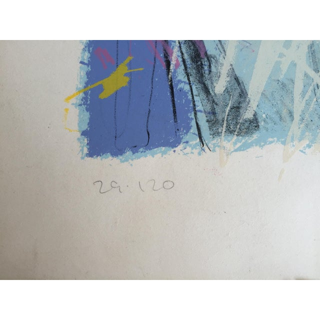 1984 Mixed Media Abstract Figure - Image 6 of 10