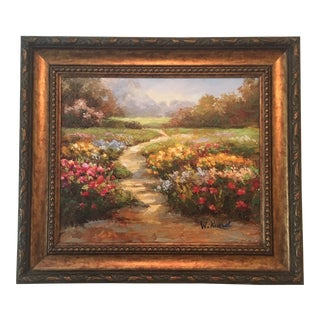Original Oil Painting by W. Russell For Sale