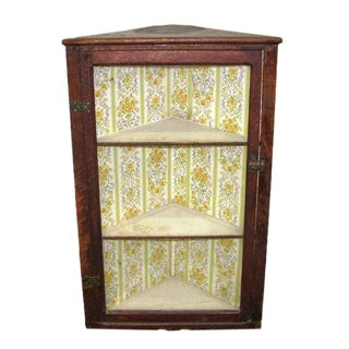 Top Wooden Corner Shelf Unit For Sale
