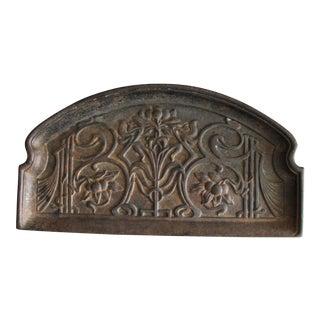 Art Nouveau Gesetzlich Geschotzt Wien Iron Tray For Sale