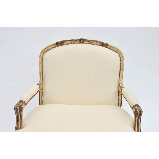 Exceptional Late 19th Century Louis XV Style Armchair For Sale In Los Angeles - Image 6 of 10