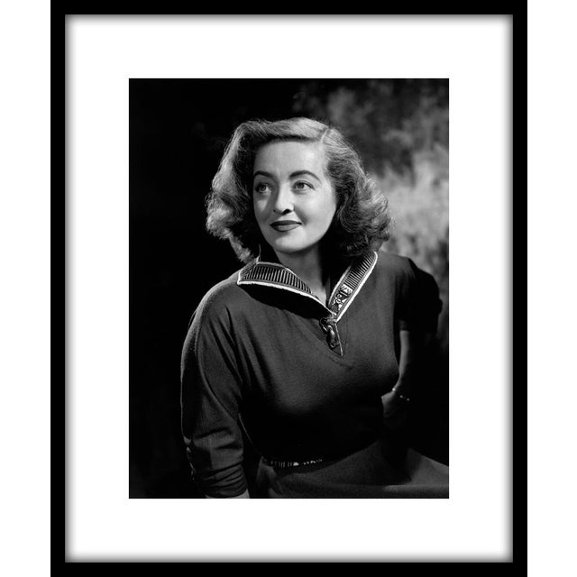 """Bette Davis, circa 1954. Photo by Wallace Seawell. 11"""" x 14"""" estate stamped silver gelatin print made from the original..."""