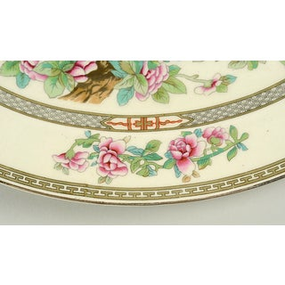 "Crown Ducal Indian Tree 14"" Oval Serving Platter Preview"