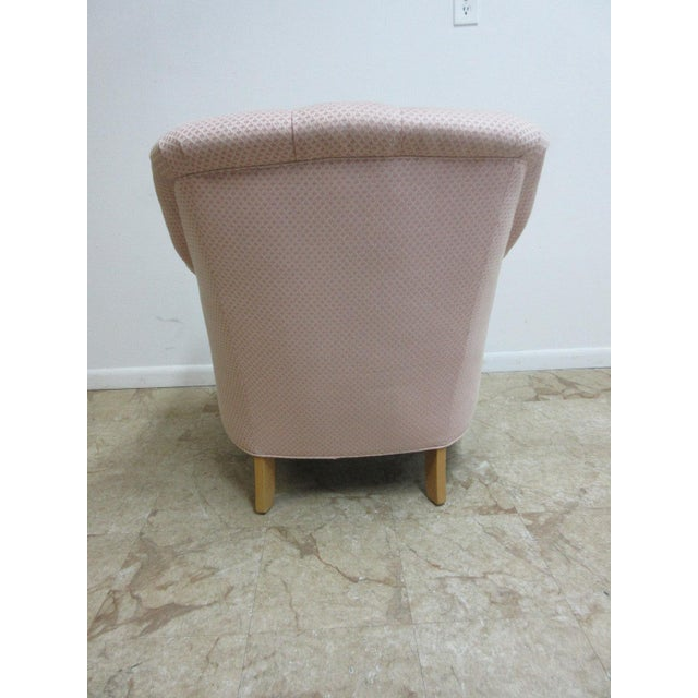 Ethan Allen Chesterfield Lounge Chair - Image 5 of 10