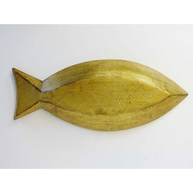 Florentine Gilt Wood Fish Tray - Image 5 of 7