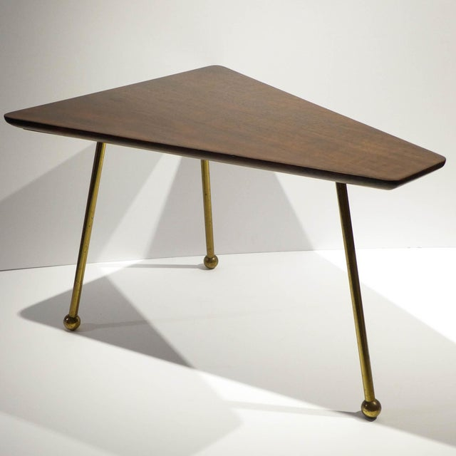 Martin Freedgood Trapezoidal Side Table - Image 3 of 8