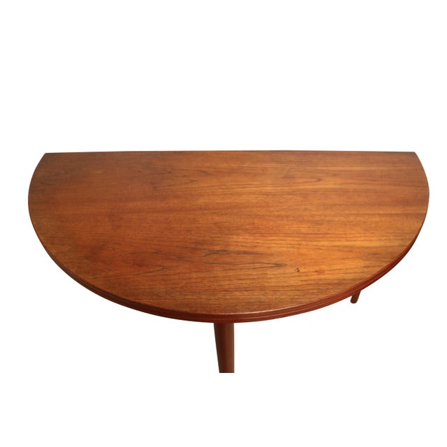 Mid-Century Teak Folding Dining Set - Image 7 of 7