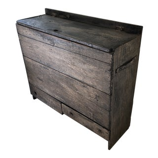 20th Century Rustic Boat Storage Console For Sale