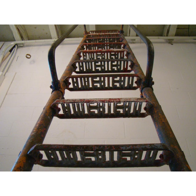 Vintage Steel American Playground Ladder For Sale - Image 4 of 11
