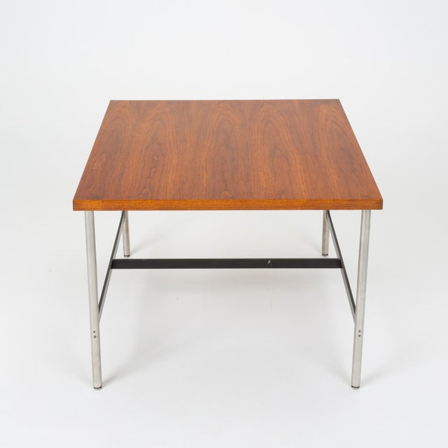 Herman Miller Mid-Century Modern Walnut Children's Work Table by Herman Miller For Sale - Image 4 of 13
