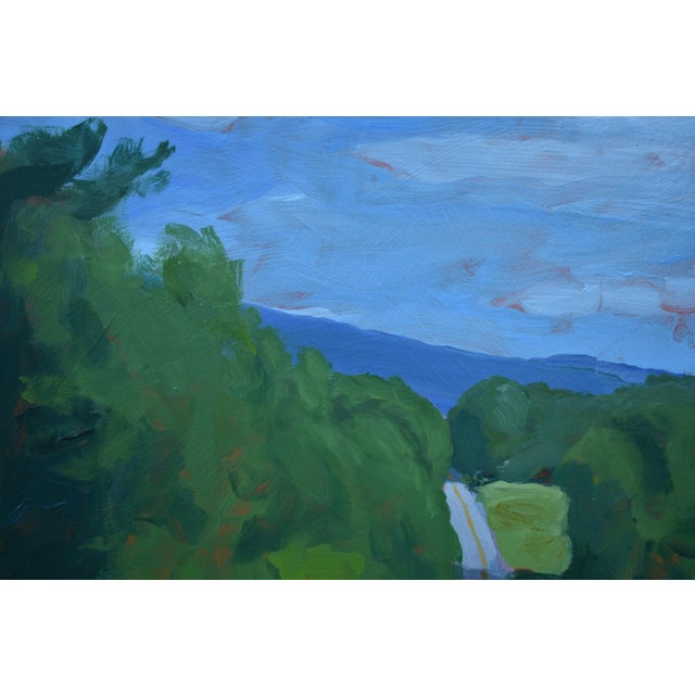 """Stephen Remick """"Back Road in Vermont"""" Painting by Stephen Remick For Sale - Image 4 of 11"""