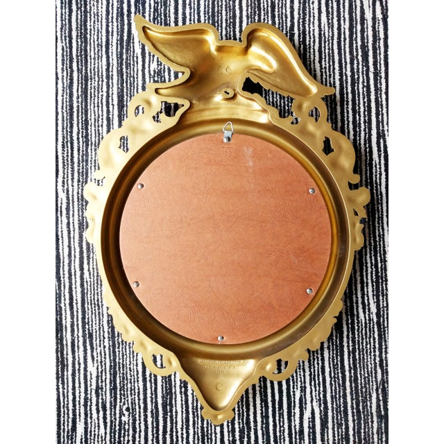 Americana Federal Eagle Gilded Convex Mirror For Sale - Image 3 of 5