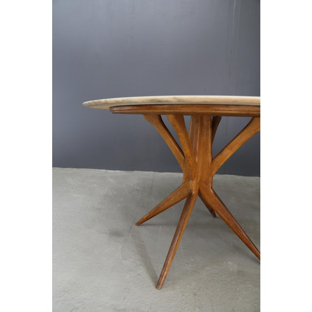 Mid-Century Modern 50's Table Attributed to Bbpr. For Sale - Image 3 of 5