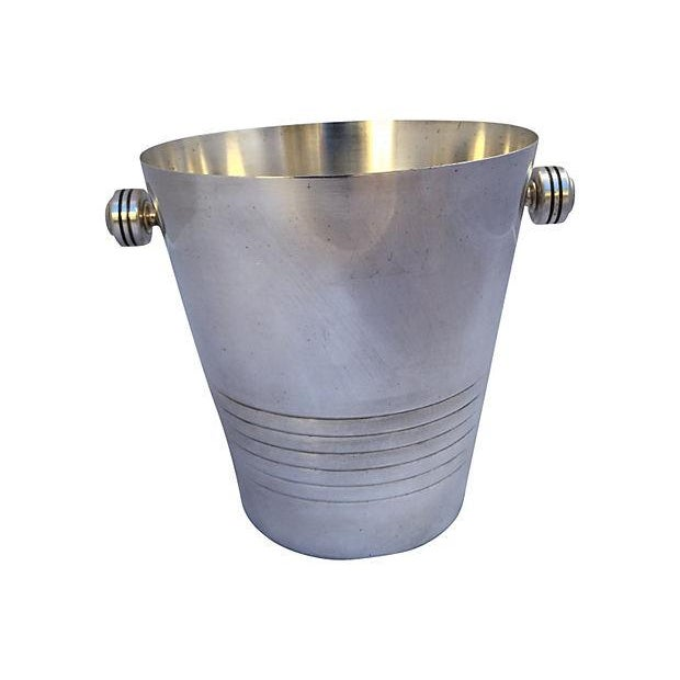 French Silver Plate Champagne Bucket - Image 6 of 6