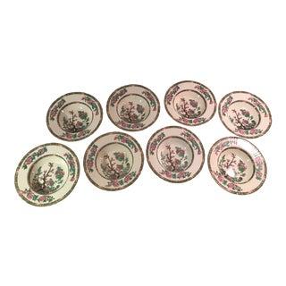 Myott Indian Tree Soup Bowls - Set of 8