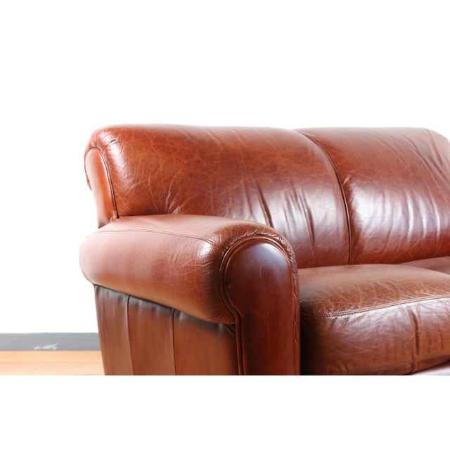 Surprising Robinson And Robinson Leather Love Seat Squirreltailoven Fun Painted Chair Ideas Images Squirreltailovenorg