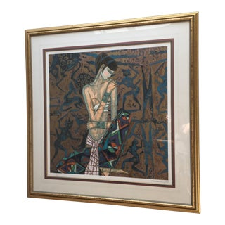 Contemporary Art Large Framed Print Ting Shao Kuang Ap For Sale